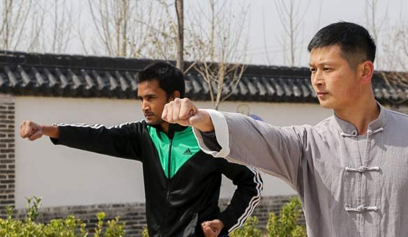 Learn Kung Fu In China!