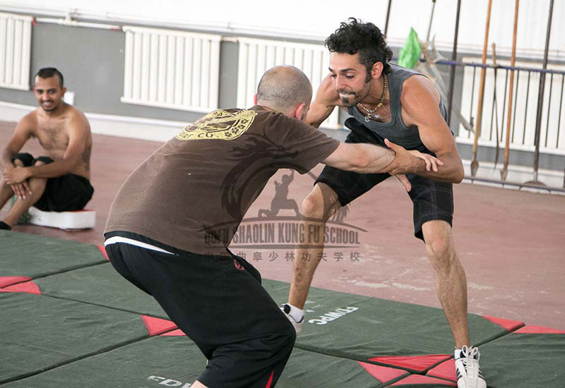 Learn in china Wrestling