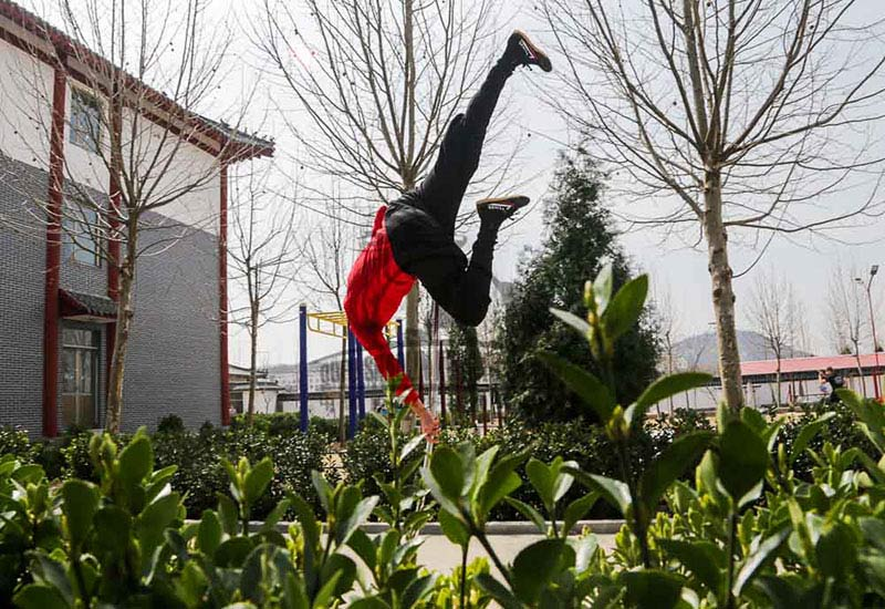 Monkey Form Shaolin Kung Fu China