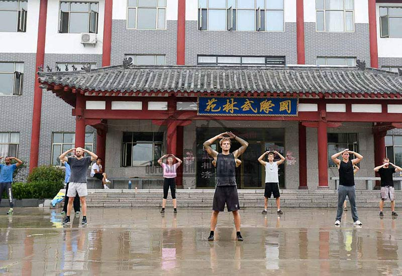Qi Gong school in china