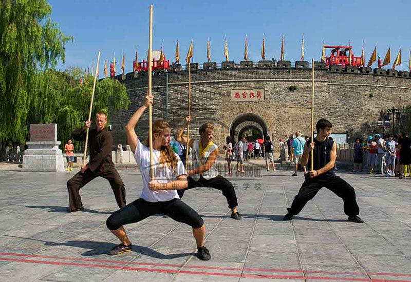 Qufu and the kungfu