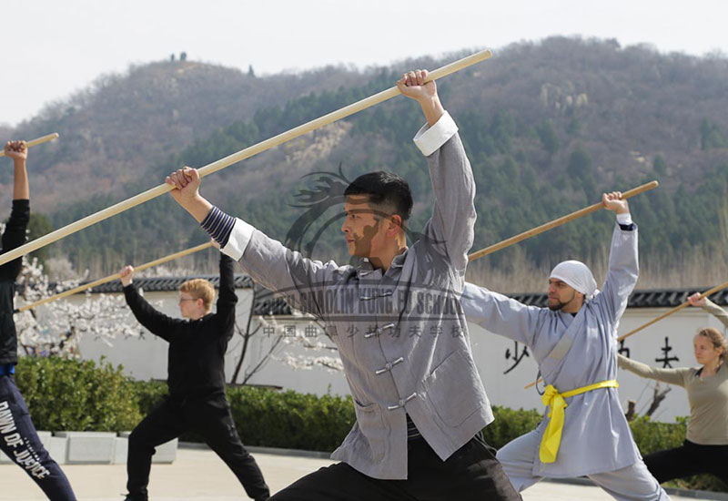 Shaolin Staff Group Form