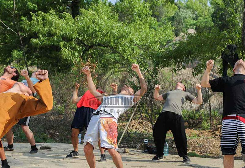 back exercice Qi Gong