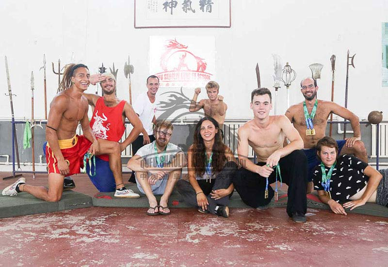 foreigner in china training kung fu