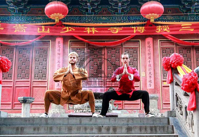 horse stance Shaolin Temple