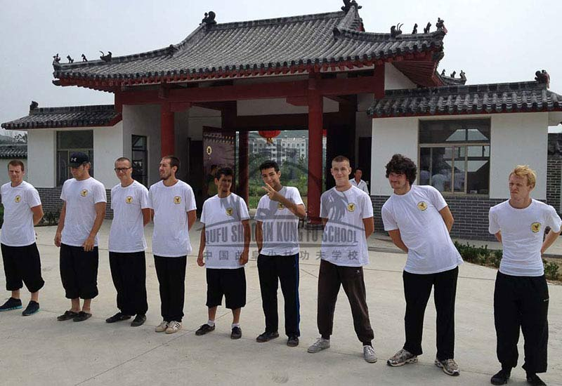 kung fu camp students