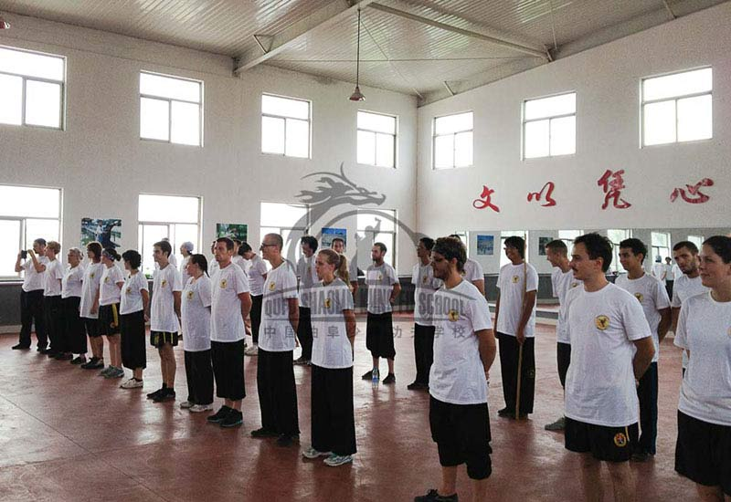 kung fu school students