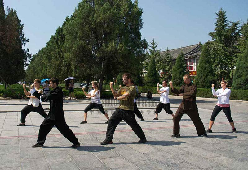 the kung fu and Qufu