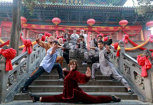group picture shaolin temple