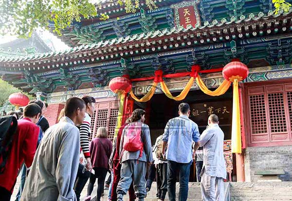 trip to shaolin temple